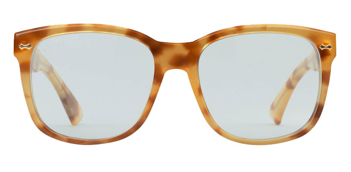 Gucci Glasses in London square frame acetate