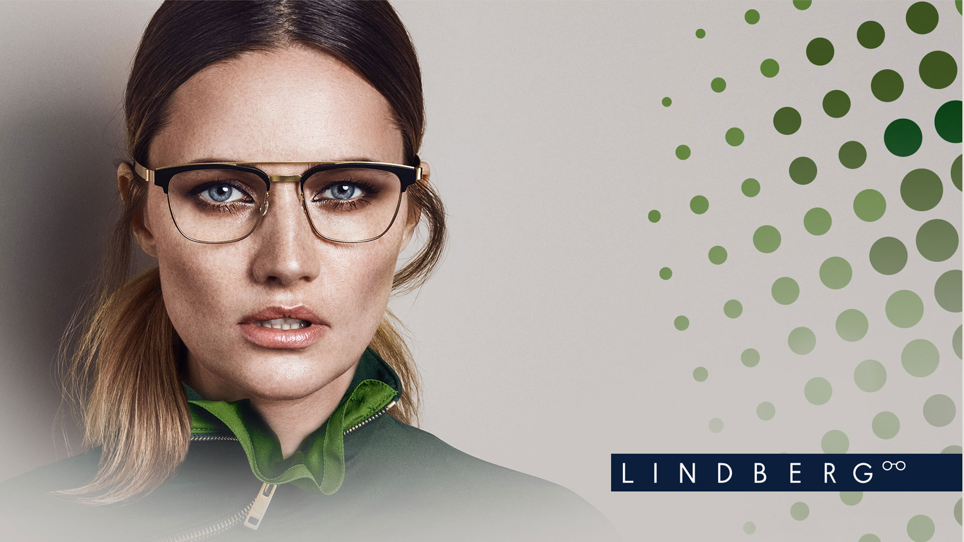 designer glasses London Lindberg female model