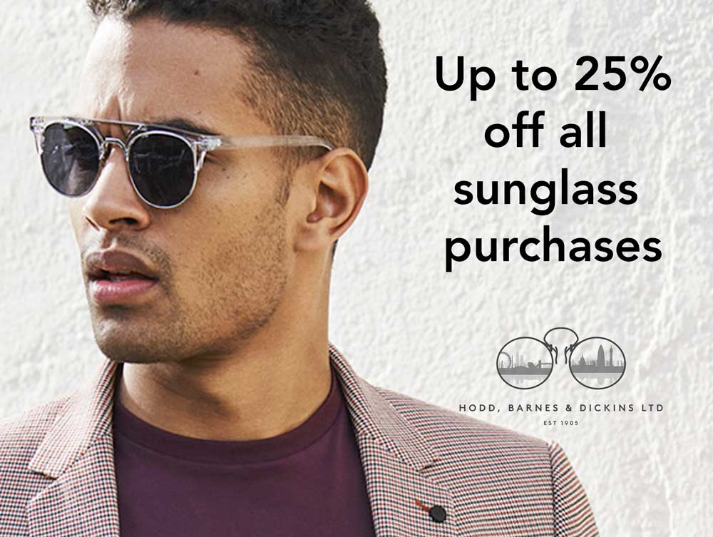 discount on sunglass purchases